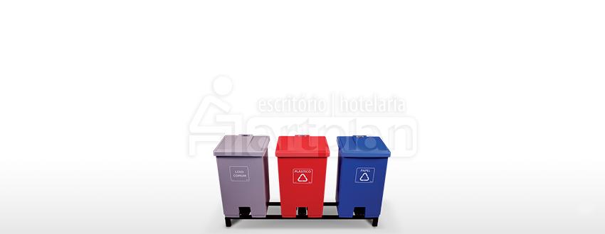 Coletor de Lixo Com Pedal