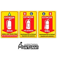 Classe de Extintores