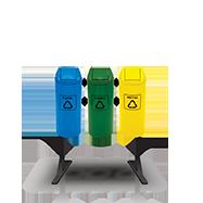 Cestos de Lixo Reciclável
