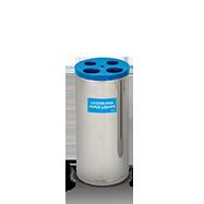 Coletor de Copo Plástico em Aço Inox