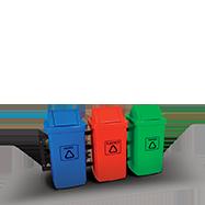 Coletor de Lixo Reciclagem